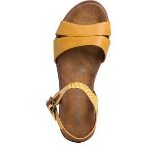 Tamaris sandály 28110  okrová