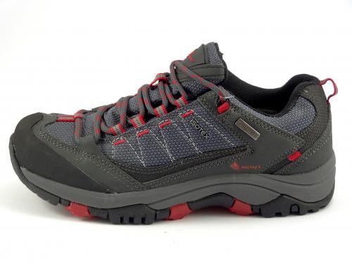 Vemont treková obuv šedo-modrá
