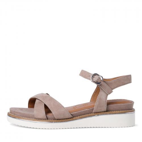 Tamaris sandály 28225 taupe