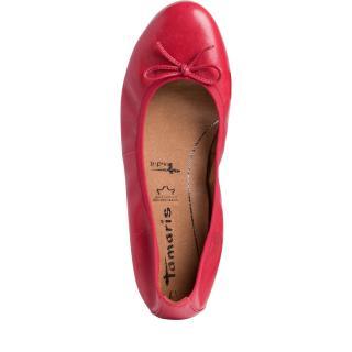 Tamaris balerína 22116 červená