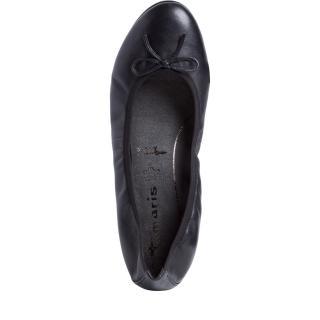 Tamaris balerína 22116 černá