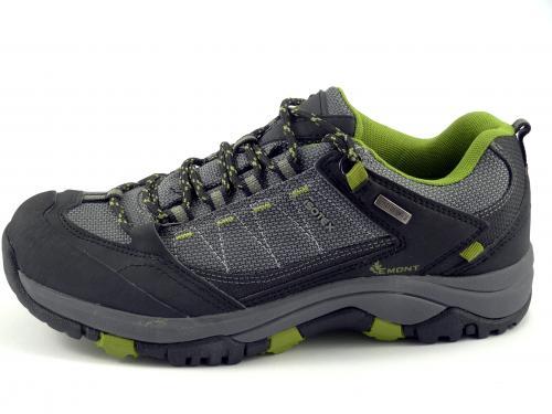 Vemont treková obuv černo-šedá