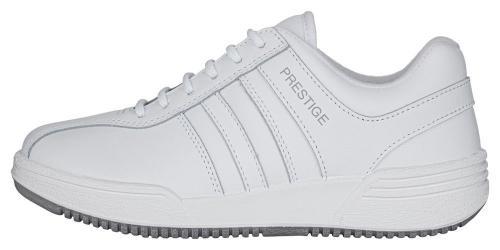 Prestige obuv M40020  bílá bílé pruhy