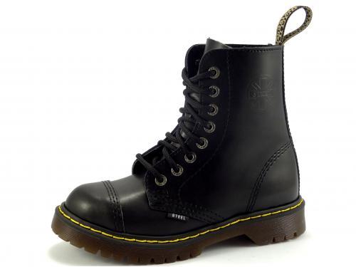 Steel boty 8 dírek 113/114/AL/KEN/OC zateplené černá