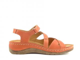 Aurelia sandál K125  256 červená