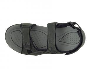 Sandál kožený Selma MR 55015 šedá