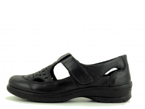 Letní polobotka Aurelia RM 56 černá