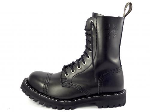 Steel boty 10 dírek 105/106/O/OC/zateplené černá
