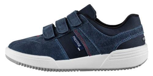 Prestige obuv M40810 velcro modrá denim