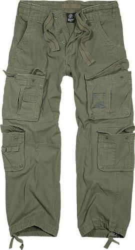 Brandit kalhoty 1003 Pure Vintage oliva