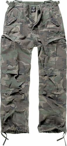 Brandit kalhoty 1001 M65 Vintage woodland