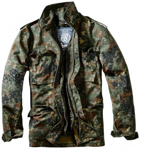Pánská bunda Brandit 3108 M65 standard flecktarn