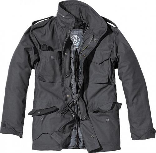 Pánská bunda Brandit 3108 M65 standard černá