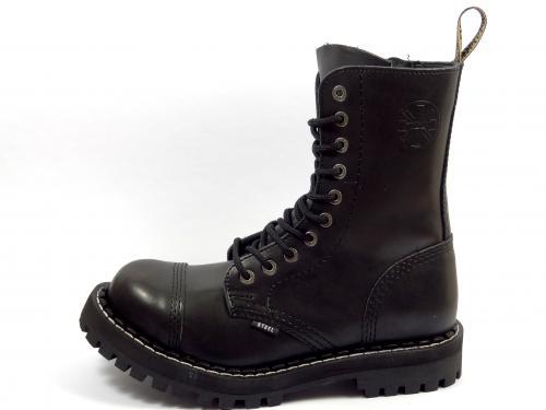 Steel boty 10 dírek 105/106/O/OC/ZIP zateplené černá