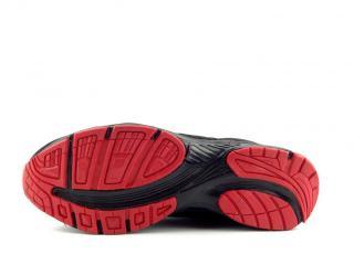 DK obuv SA3005 blk/red