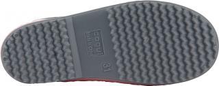 COQUI holínky dětské  Rainy collar 8509 powder pink/dk. grey