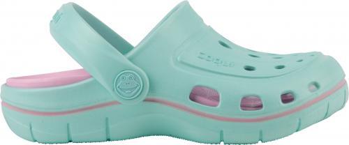 COQUI sandály dětské JUMPER 6353  Lt. mint/pink