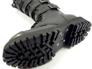 Steel boty 20 dírek 139/140/O/4P/ZIP  černá