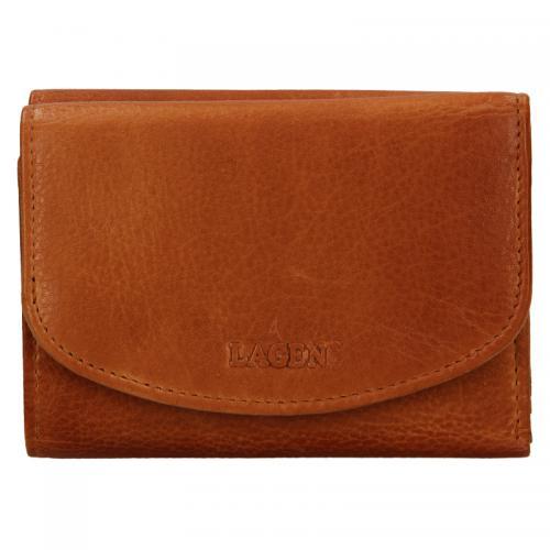 Lagen peněženka LG-2523/D peněženka caramel