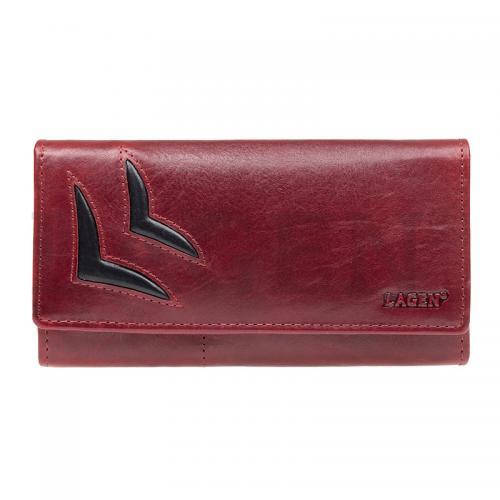 Lagen peněženka 6011/T red/blk