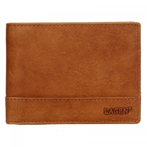 Lagen peněženka LM-64665/V  hnědá