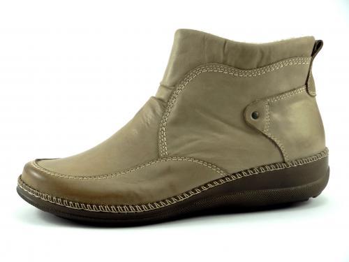 Kotníková obuv béžová nízká b1dca1b8d0