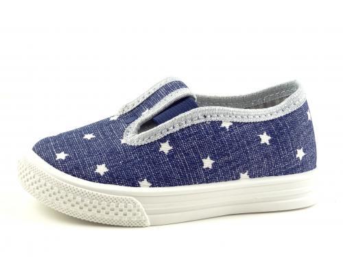 Bačkůrky NAZO hvězdičky 041DA modrá