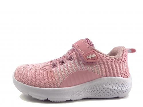 Befado obuv na suchý zip 516 060 růžová