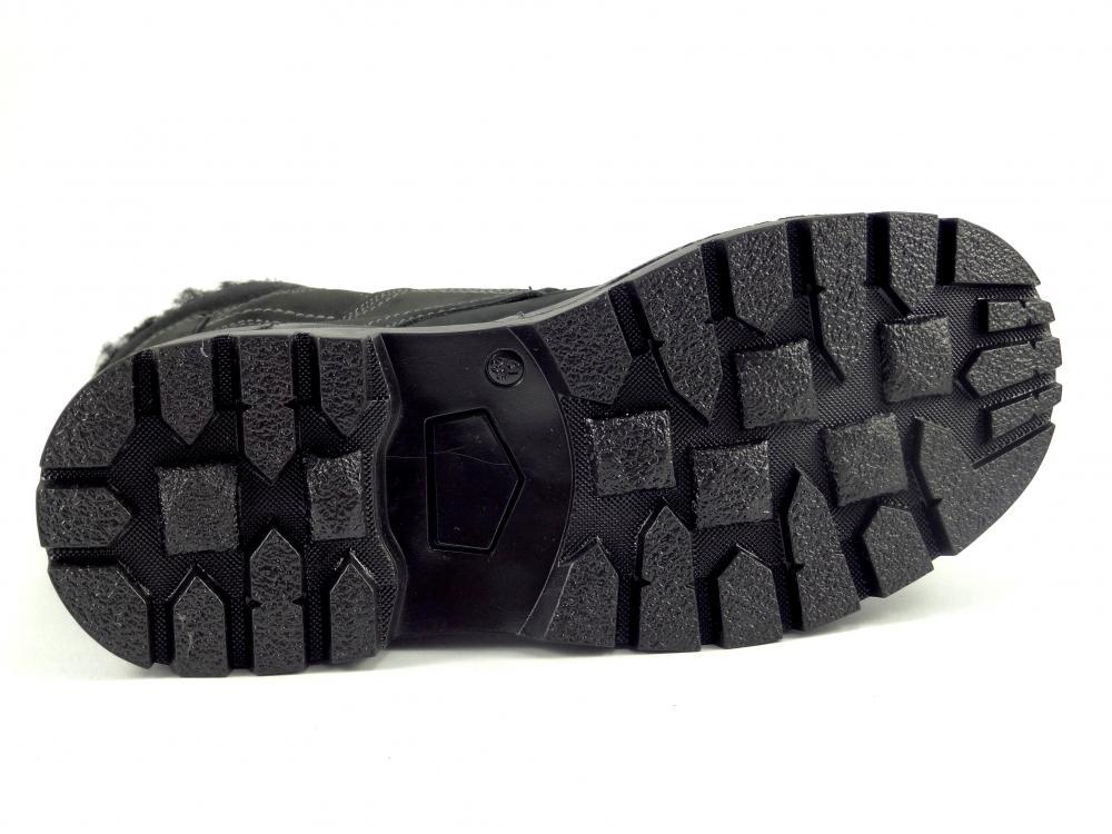6e17e48fdb4 Kotníková obuv šněrovací černá