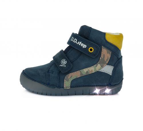 Dětská celoroční obuv D.D.step 944 Royal Blue