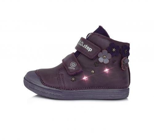 Dětská celoroční obuv A049  885 violet