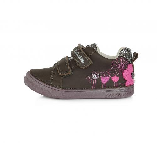 Dětská obuv D.D.step 040  972BL tmavě šedá