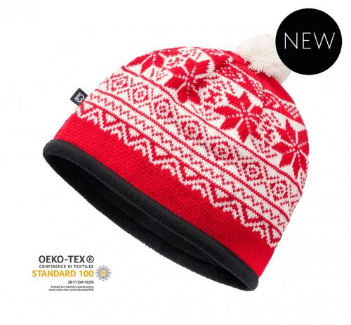 Brandit čepice Snow cap 7020 38 červená