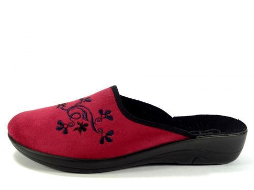 Befado papuče 552D 004 červená