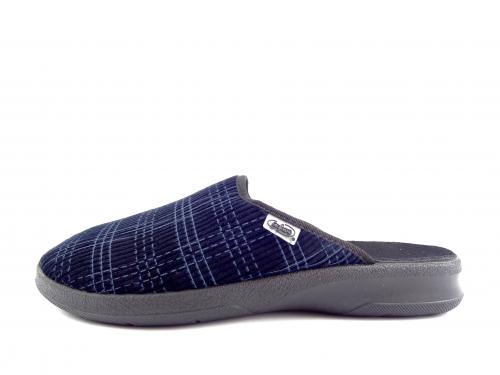 Befado papuče 548M  010 tmavě modré
