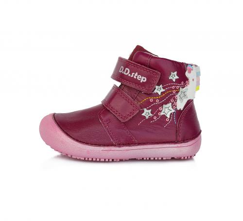 Celoroční obuv D.D. step A063  904M raspberry