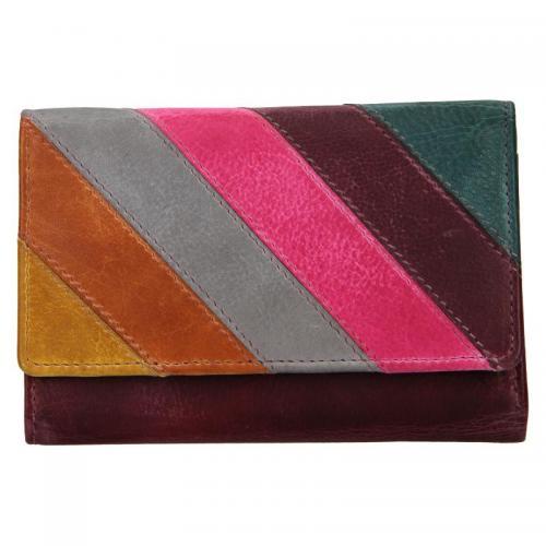 Lagen peněženka 864-77/D  PLUM multi