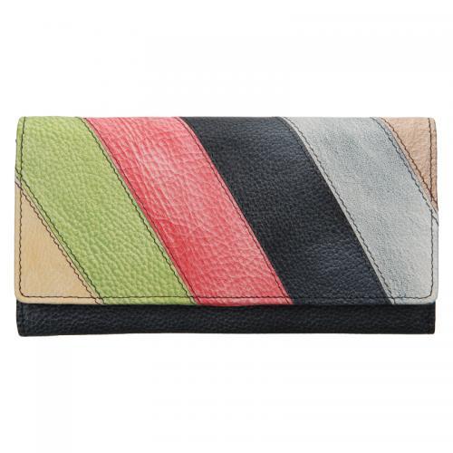 Lagen peněženka 862-77  CHARCOAL multi