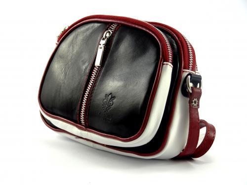 Vera Pelle kabelka malá barevná