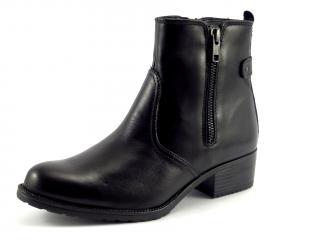 Klondike032H07kotníková obuv zip černá