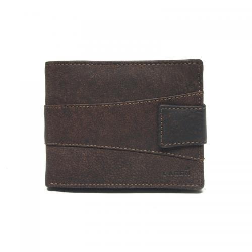 Lagen V 98/W hnědá pánská peněženka