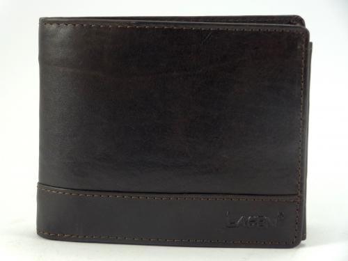Lagen V 76/T hnědá pánská peněženka