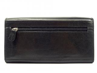 Lagen V 102  black kožená peněženka
