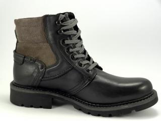 KlondikeY805 zimní obuv pánská černá