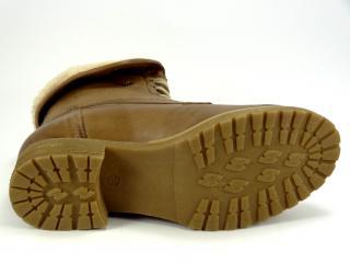KlondikeV374 zimní kotníková obuv hnědá
