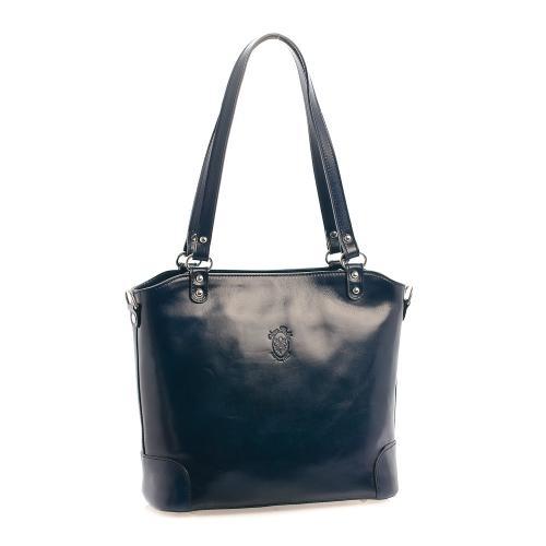 Vera Pelle kabelka tmavě modrá