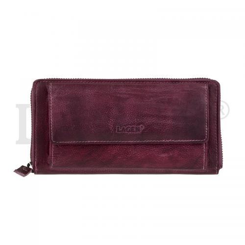 017D peněženka plum dámská