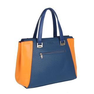 Nobo 0540 kabelka modrooranžová