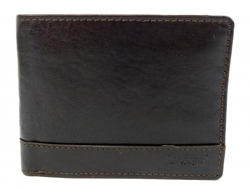Lagen peněženka dark brown 1996/T