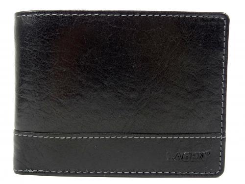 Lagen peněženka černá LM64665/T